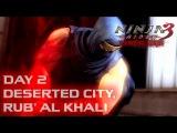 Ninja Gaiden 3 Razor's Edge прохождение день 2 Пустынный город, Руб Аль Хали