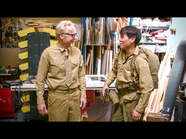 Adam Savage's WWII Uniforms from The Pacific!