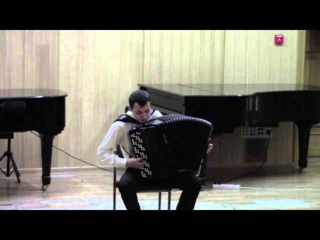Сезар Франк - Хорал № 1 для органа ми мажор, вариант для баяна (Юрий Кононов)