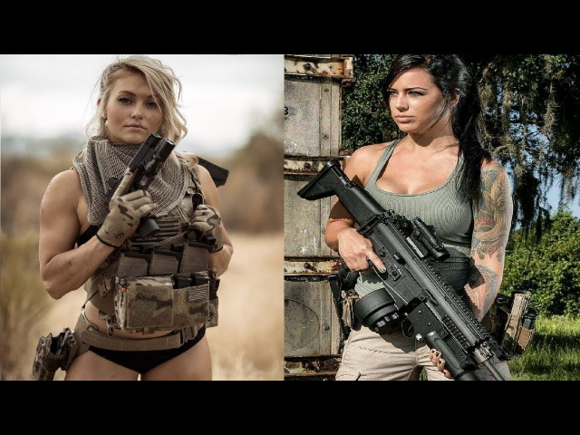 FEMALE MILITARY CROSSFIT FITNESS MOTIVATION 2018