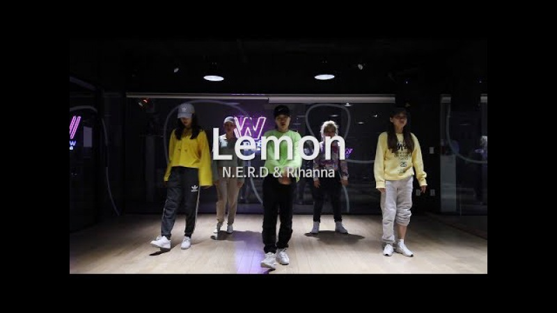 [ N.E.R.D Rihanna - Lemon ] choreography Chu /Girlish 안무반