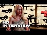 Machete Kills Amber Heard On Set Movie Interview