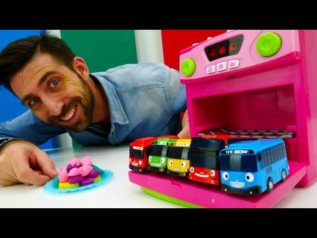 La Garderie de Romain le nounou №5 : Les Bus Tayo apprennent les formes
