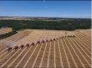 Canadian Foodgrains Bank Winter Wheat Harvest 2016- 18 Combines -Killarney, Manitoba