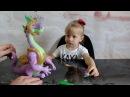Распаковка игрушки с серии моя маленькая пони,LITTLE PONY DRAGON SPIKE,,виде с Камиллой!!!