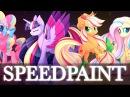 Rainbow Powers | MLP Speedpaint