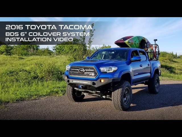 Toyota Tacoma 6 BDS Coilover System Installation
