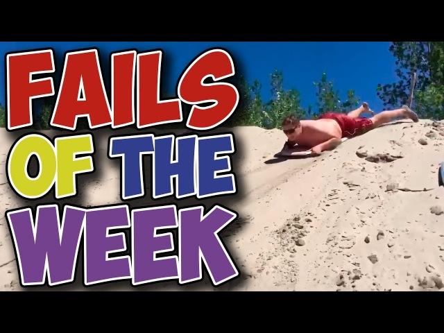 Best Fails of the Week - Lets Slide that Sand Hill (October 12017)   LotOfLaughsTv