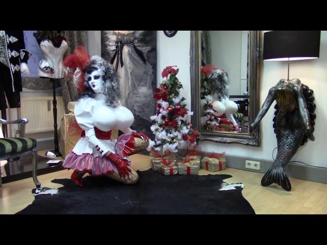 Weihnachten mit Christmas Doll bei Crossdressingmode