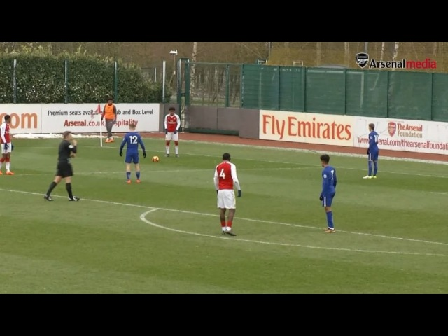 """Arsenal Official on Instagram: """"🔴 it's straight in from @reissnelson and AFCU23 beat Chelsea 3-1 in Premier League 2 . . Nelson YoungGuns PL2"""""""