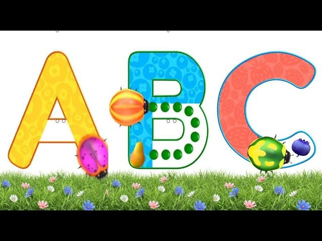 Learn alphabet Writing with ABC phonics and Tracing from Dave and Ava