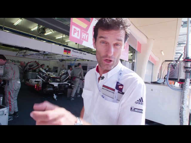 Porsche - A look behind the scenes with Mark Webber