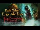 Dark Tales: Edgar Allan Poe's The Premature Burial Collector's Edition Walkthrough NO COMMENTARY