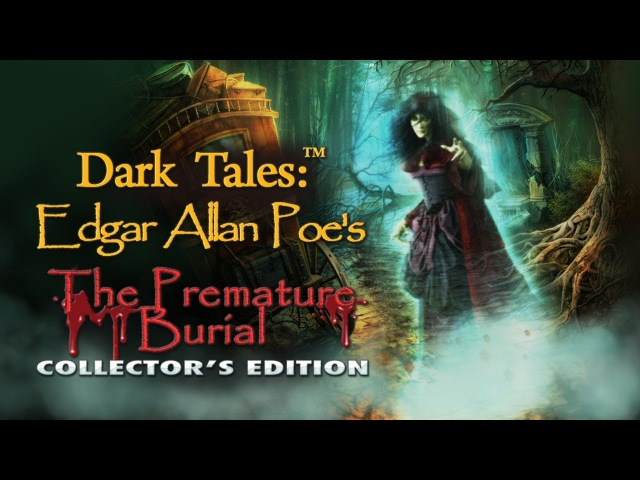 Dark Tales: Edgar Allan Poe's The Premature Burial Collector's Edition Walkthrough NO COMMENTARY
