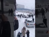 Владивосток Сегодня Первый снег на дорогах Веселуха!!! Не пропустите такое тольк...