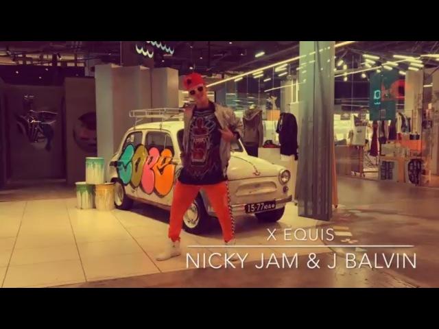 X EQUIS - Nicky Jam ft. J.Balvin | Zumba Fitness