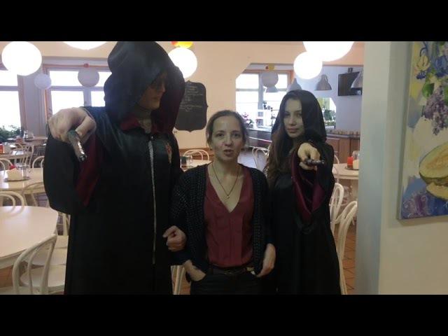 Праздник с Гарри Поттером и Гермионой от Либерти-Арт