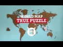 NEW VERSION of World Map True Puzzle