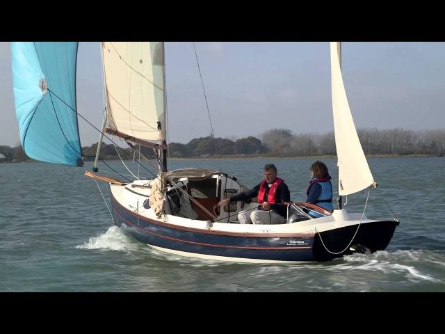 Swallow Yachts BayRaider Expedition under Asymmetric Spinnaker