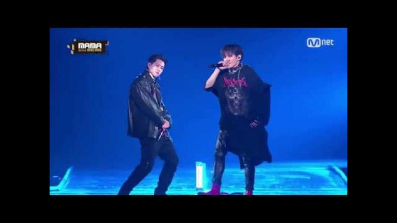 Monsta X Jooheon NCT Taeyong Rap Cut @ 2016 MAMA
