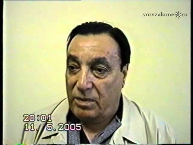 вор в законе Аслан Усоян Дед Хасан 50 лет стажа не могу же быть рабочим депо