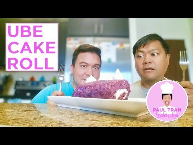 STEVEN UNIVERSE UBE CAKE ROLL - Paul Tran Baker Man