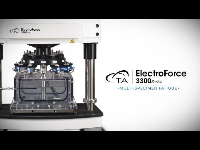 Усталостные испытания с ElectroForce 3300 TA Instruments