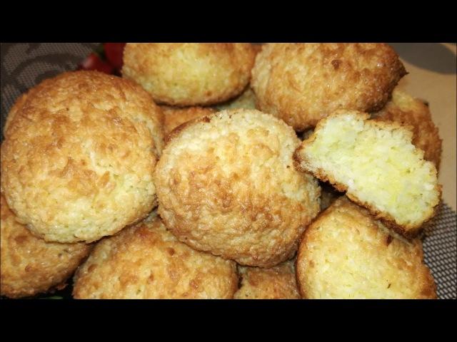 Печенье Кокосанка лёгкое и быстрое приготовление!Cookies Coconut easy and quick preparation!