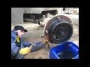 🚜Ремонт бортовой экскаватора-погрузчика JCB 3CX🔧🔨Замена сальников ступицы JCB 3CX...