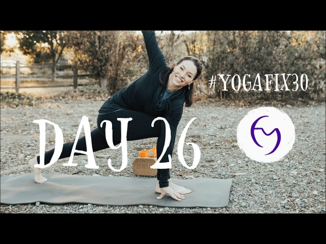 Total Body Vinyasa Flow Day 26 With Fightmaster Yoga