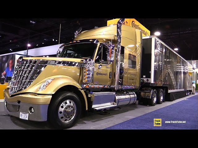 2017 International Lone Star Continental Tires Products Demo Truck Walkaround 2017 NACV Show Atlan