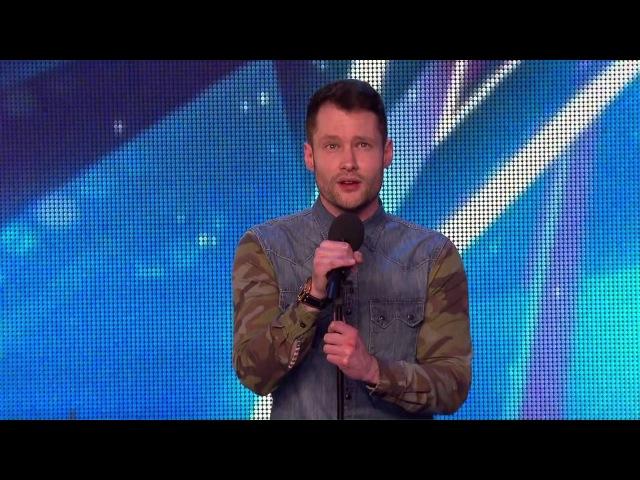 Calum Scott i keep dancing on my own Britain's Got Talent 2015