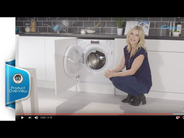 Candy Integrated 8Kg / 5Kg Washer Dryer - Product Overview - CBWD8514D