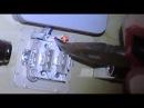 Удаление неоновой подсветки из выключателя