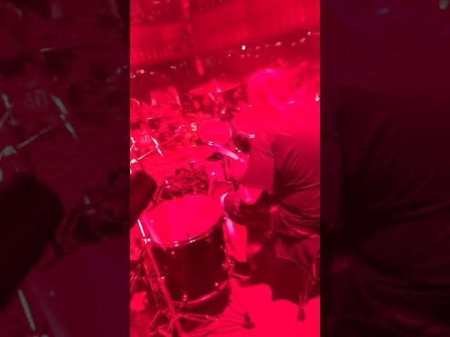 Kreator Drumcam Chicago 4/7/2017