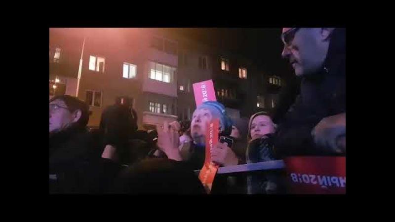 Бабушка на митинге Навального обратилась к молодежи хотите ли вы такой жизни как у меня