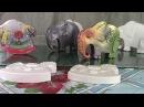 Декорируем гипсовых слонов ХоббиМаркет
