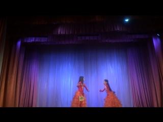 Ткачук Рамиля, Шаронова Виктория –дуэт- oriental classic- дети