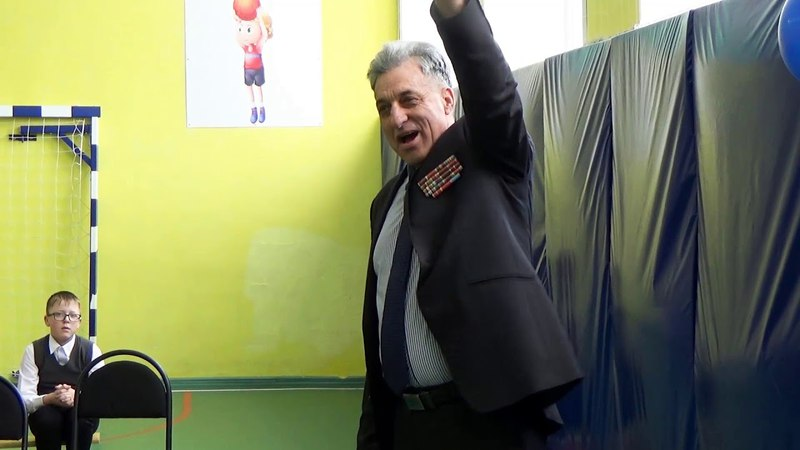 Абдул Азиз Мераджуддин в Писцово принимает участие в акции Юнармии - Иваново