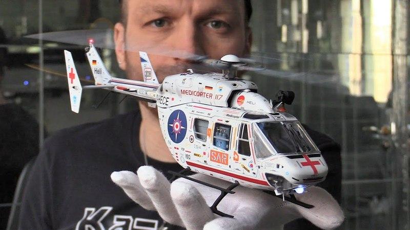 Обзор модели вертолета Bk-117
