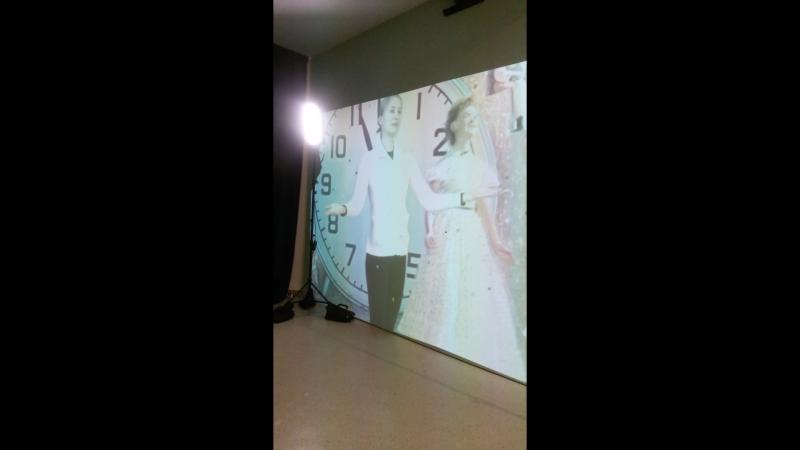 Интерактив на выставке Рязанова