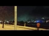 В Москве загорелся теплоход