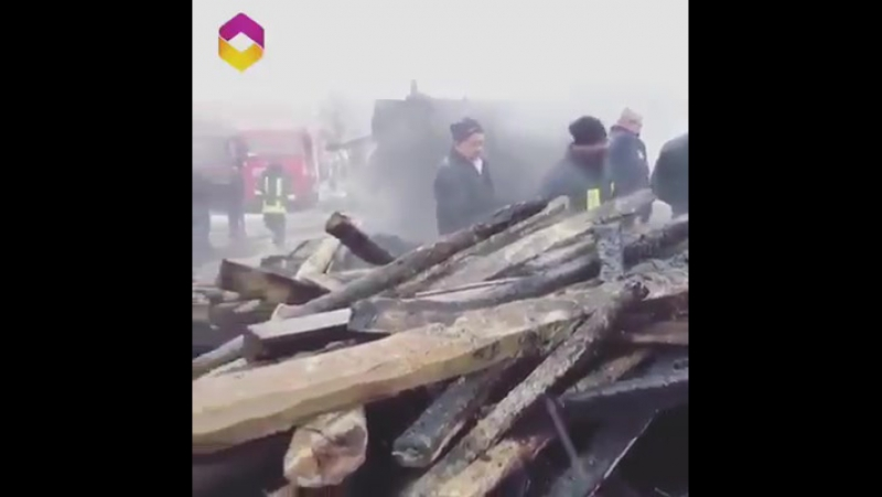 When his house burned to the ground he made sure to save his biggest treasure ♥