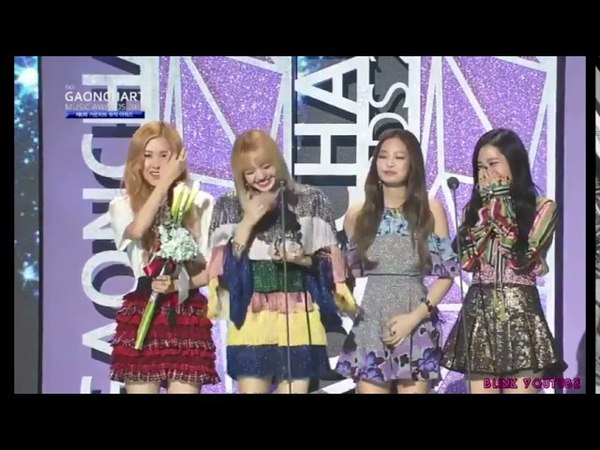 [ENG SUB] BLACKPINK Lisa Thai Korean Speech For Artist of the year @ 6th Gaon Music Awards