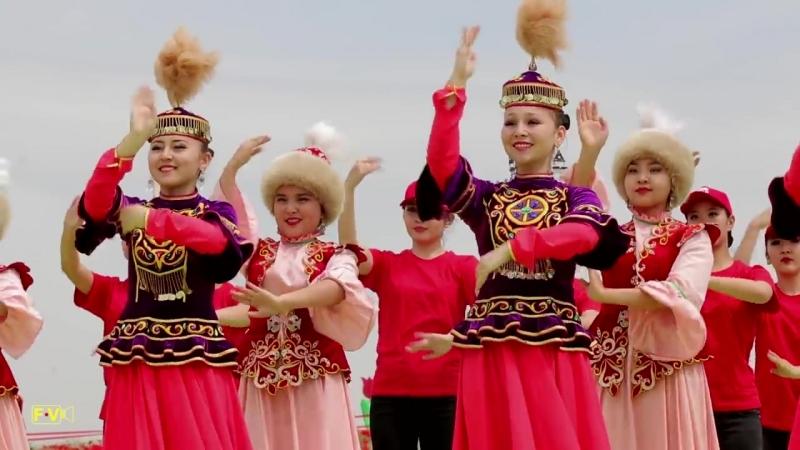 Шырайлым Шұбайқызыл фестивалі. Фестиваль тюльпанов. 23.04.2018