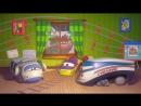 Веселый паровозик Тишка - Летающие паровозики