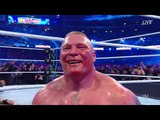 WWE Wrestlemania 34 - Brock Lesnar vs Roman Reigns Full Match
