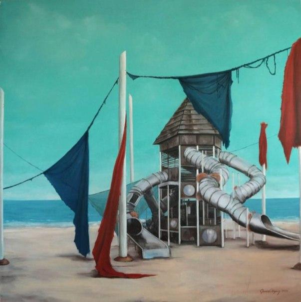 Гамзе Олгун (Gamze Olgun) - турецкая художница. Родилась в 1969 году, в Стамбуле. Первоначальное художественное образование получила в Американском Колледже в городе Тарсус, Турция, в 1988 году. Затем, в 1994 году окончила университет искусств Мимара Сина