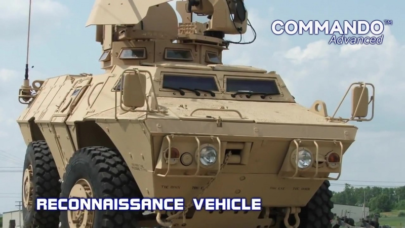Textron Marine Land Systems COMMANDO Advanced Select Elite Бронированный автомобиль 1080