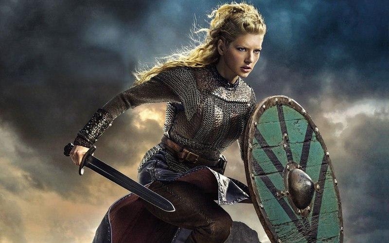 Как себя вели женщины викингов